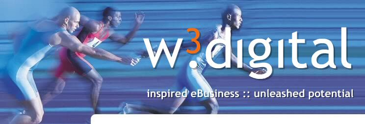 W3 Digital image of relay runners